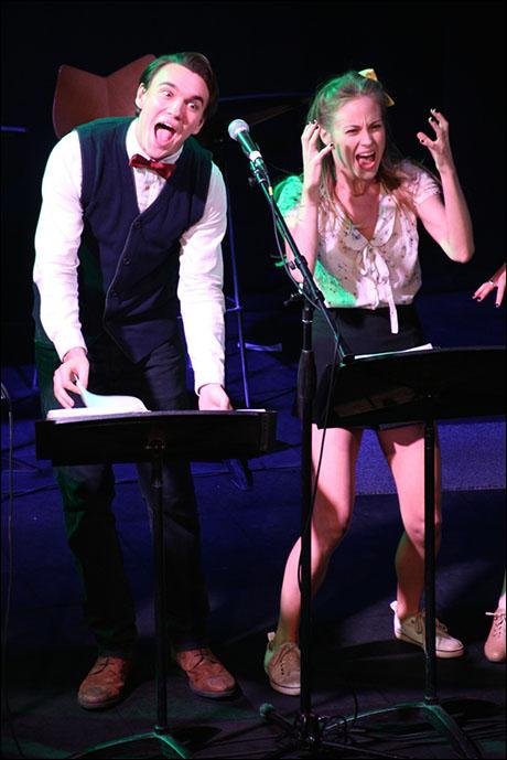 Collin Kelly-Sordelet and Kristen Martin