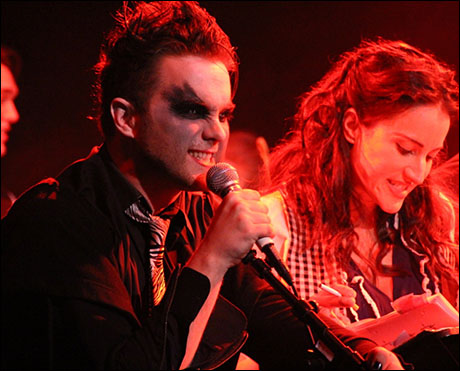 Thomas Dekker and America Olivo