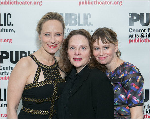 Laila Robins, Maryann Plunkett, and Sally Murphy