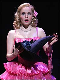 Kate Reinders in <I>Wicked</I>.