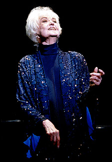 Bea Arthur in Bea Arthur on Broadway