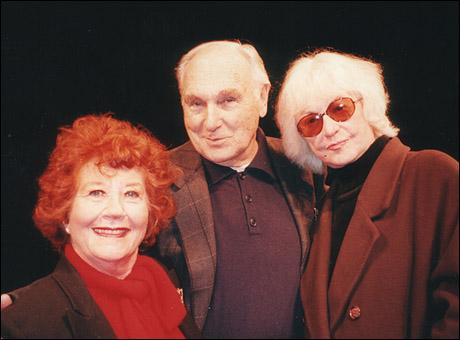 Charlotte Rae, Donald Saddler and Bea Arthur