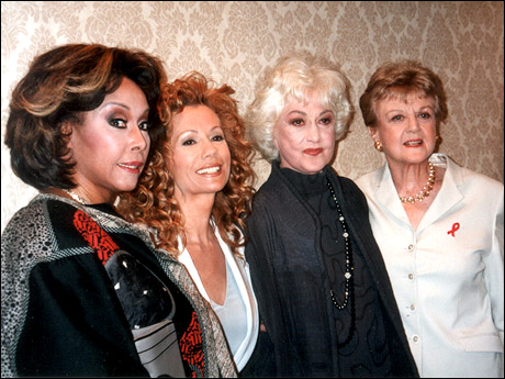 Diahann Carroll, Kathie Lee Gifford, Bea Arthur and Angela Lansbury