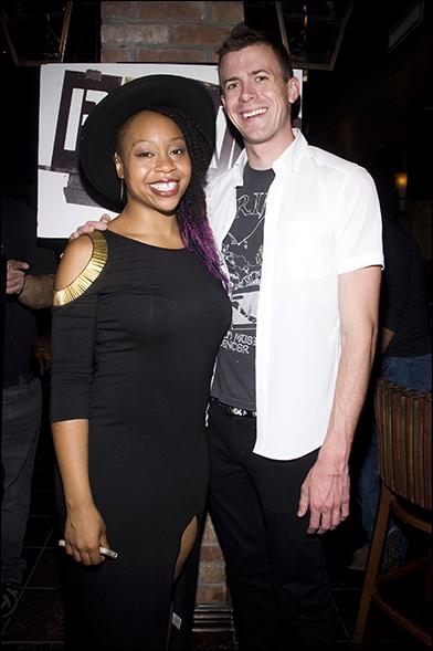Tamika Sonja Lawrence and Will Van Dyke