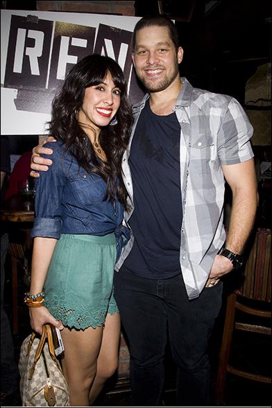 Kat Nejat and Ben Thompson