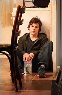 Jesse Eisenberg in <i>The Revisionist.</i>