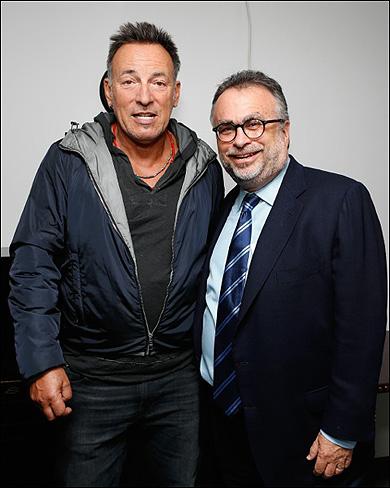 Bruce Springsteen and Richard Frankel