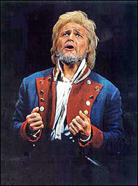 Rob Evan as Jean Valjean