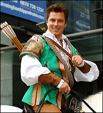 John Barrowman in <I>Robin Hood