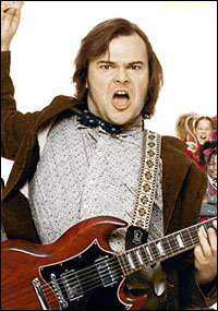 Jack Black starred in the film