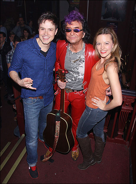 Aaron C. Finley, Jim Peterik and Kate Rockwell