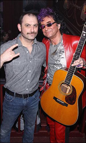 Genson Blimline and Jim Peterik