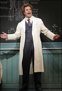 Roger Bart in Broadway's <I>Young Frankenstein</I>