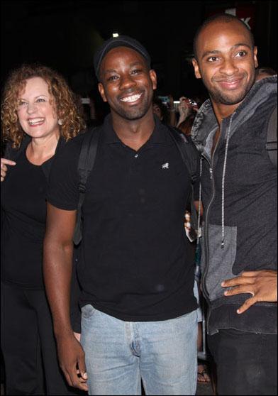 Nance Williamson, Maurice Jones and Donte Bonner