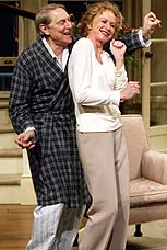 John Cullum and Patricia Hodges in <i>Rose's Dilemma</i>