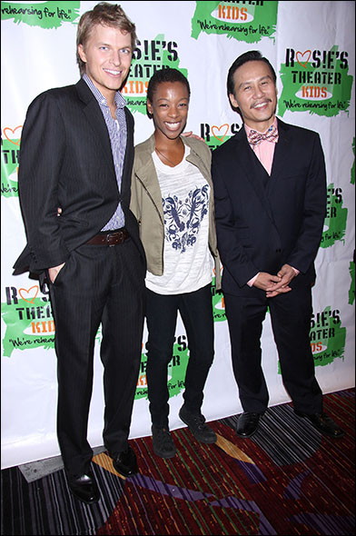 Ronan Farrow, Samira Wiley and B.D Wong