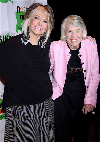 Sheila Nevins and Liz Smith