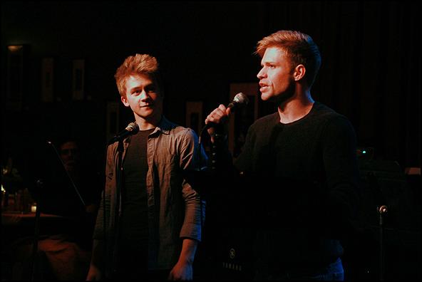 Riley Costello and Hunter Ryan Herdlicka