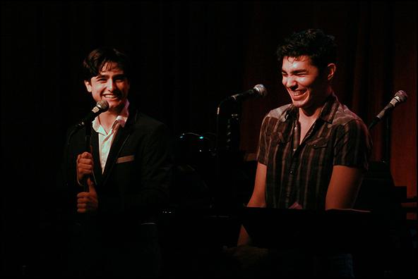 Giuseppe Bausilio and Anthony Lee Medina