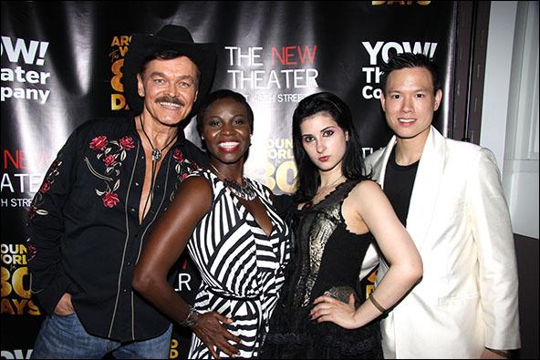 Randy Jones, Shirine Babb, Rachel Klein and Cedric Yau
