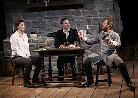 Rosie Benton, Erik Lochtefeld and P.J. Sosko