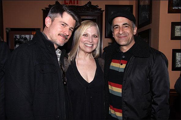 Randy Redd, Roslyn Kind and David Pittu