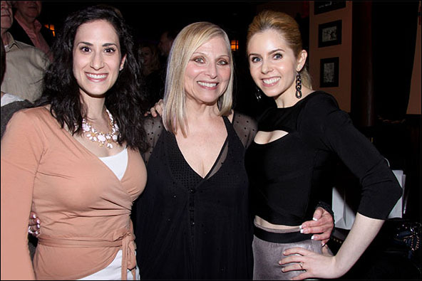 Jennifer Diamond, Roslyn Kind and Brooke Sunny Moriber
