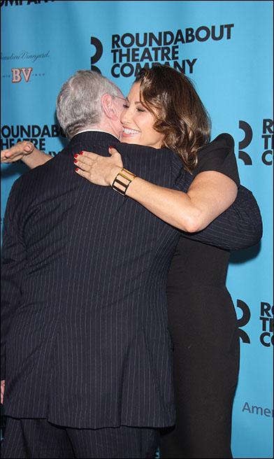 Todd Haimes and Gina Gershon