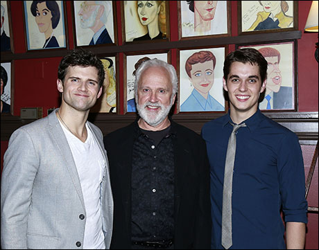 Kyle Dean Massey, John Rubinstein and Kyle Selig