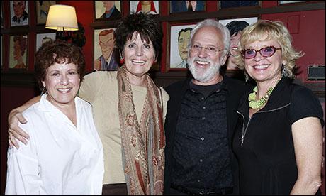 Judy Kaye, Lucie Arnaz, John Rubinstein and Christine Ebersole