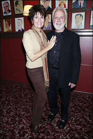Lucie Arnaz and John Rubinstein