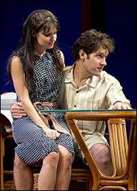Kate Arrington and Paul Rudd