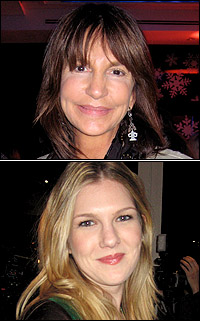 Mercedes Ruehl and Lily Rabe