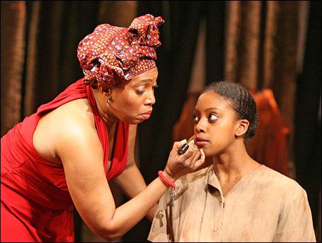 Saidah Arrika Ekulona and Condola Rashad
