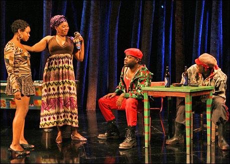 Quincy Tyler Bernstine, Saidah Arrika Ekulona, Chiké Johnson and William Jackson Harper