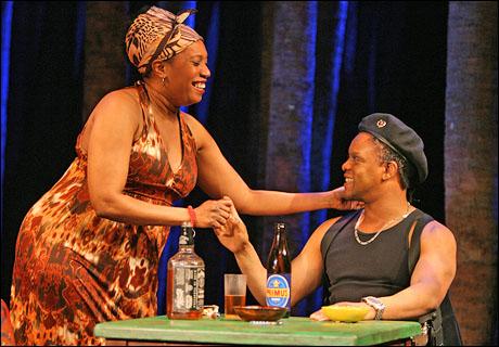 Saidah Arrika Ekulona and Kevin Mambo