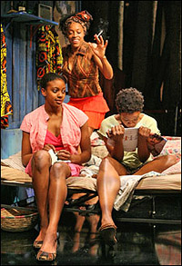 Condola Rashad, Cherise Boothe and Quincy Tyler Bernstine in <I>Ruined</I>