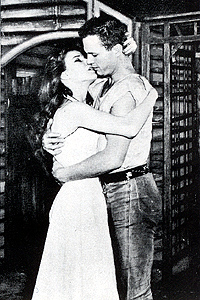 Janice Rule with Ralph Meeker in <I>Picnic.</I>