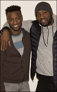 Sheldon Best and Malik Yoba