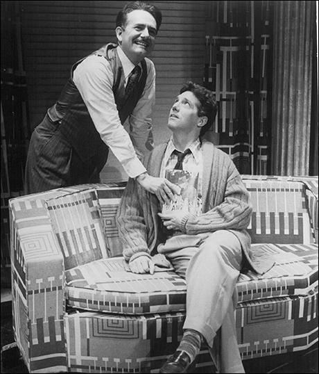 Richard Kline and Michael Rupert in City of Angels