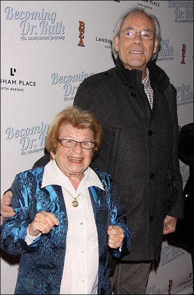 Dr. Ruth K. Westheimer and Robert Klein