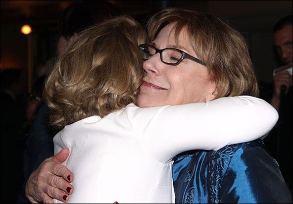 Debra Jo Rupp and Julianne Boyd