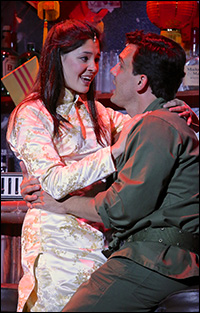 Manna Nichols and Charlie Brady