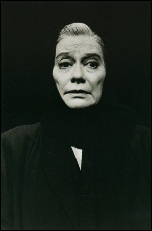 Kate Reid in the 1984 Broadway revival