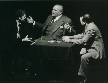 Kevin Anderson, Brian Dennehy and Ted Koch in the 1999 Broadway revival