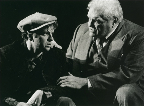 Kevin Anderson and Brian Dennehy in the 1999 Broadway revival