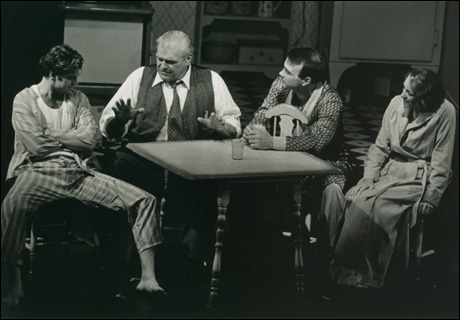 Kevin Anderson, Brian Dennehy, Ted Koch and Elizabeth Franz in the 1999 Broadway revival