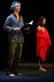 David Strathairn and Marisa Tomei in a 2003 limited-run Broadway staged reading of Salome.