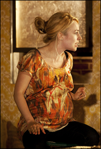 Sarah Goldberg in <i>Clybourne Park</i>.