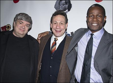 Terry Teachout, Gordon Edelstein and John Douglas Thompson